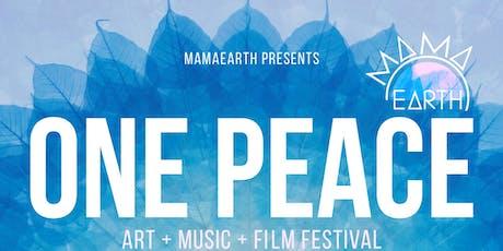 ONE PEACE Art, Music & Film Festival - HAWAII tickets