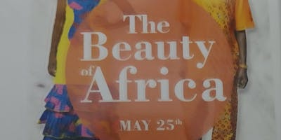 The beauty of Africa fashion show