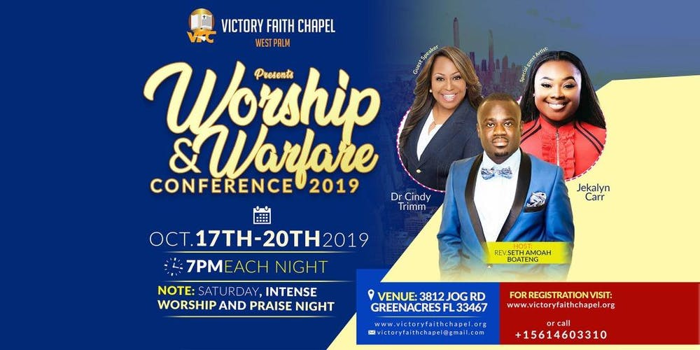 Worship and Warfare Conference 2019