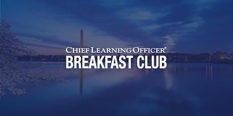 CLO Breakfast Club - Washington, D.C. 2019 tickets
