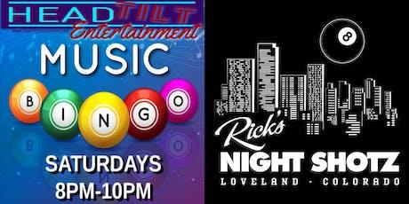 Music Bingo at Rick's Night Shotz - Loveland, CO tickets