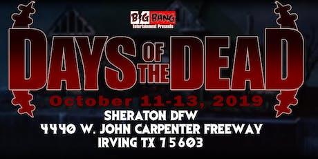 Days Of The Dead Dallas 2019 - Vendor Registration tickets