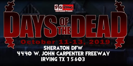 Days Of The Dead Dallas 2019 - Vendor Registration