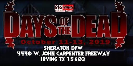 Days Of The Dead Dallas 2019 - Vendor Registration
