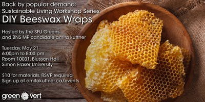 Sustainable Living Series: DIY Beeswax Wrap