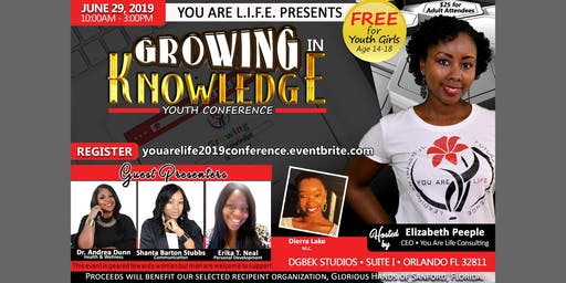 2nd Annual L.I.F.E. Girls Youth Conference