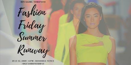 DivaGirl Fashion Friday Summer Runway tickets