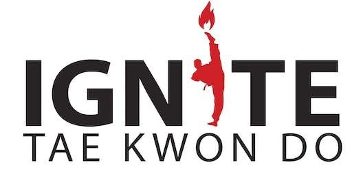 Ignite Taekwondo Trial Classes!