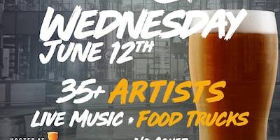 Art & Beer Night Market SD!