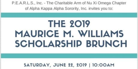 18th Maurice M. Williams Scholarhip Brunch  tickets