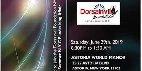 The Dorsainvil Foundation's Annual Summer Fundraising Gala 2019 tickets