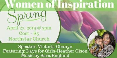 "Women of Inspiration-\""Spring\"""
