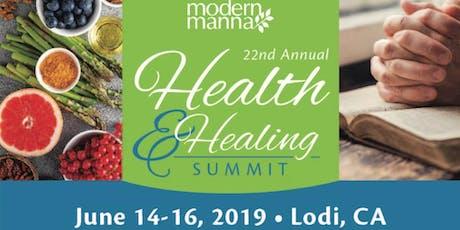 Modern Manna's 22nd Annual Health & Healing Summit tickets