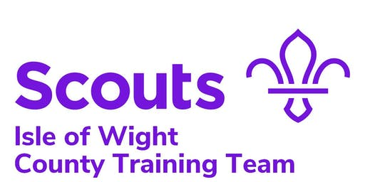 Isle of Wight Scouts Woodbadge Weekend 1