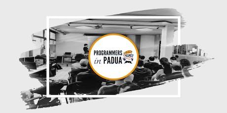 Domotics - Open Source is better - Programmers in Padua biglietti