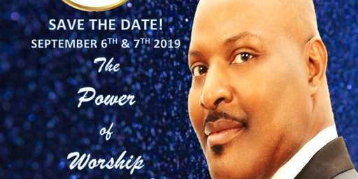 P.O.W. 2019.  The Power of Worship Conference 2019.  He's WORTH IT!