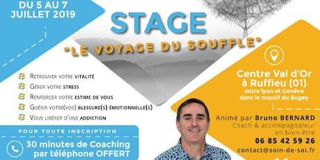 """Stage """"Le Voyage du Souffle"""" billets"""