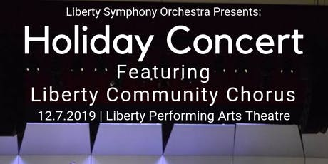 Liberty Symphony's Holiday Concert tickets