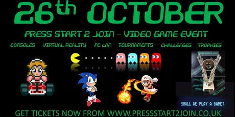 Press Start 2 Join - Video Gaming Public Event tickets