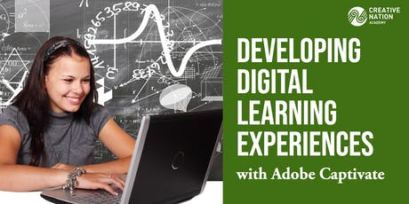 Developing Digital Learning Experiences with Adobe Captivate tickets