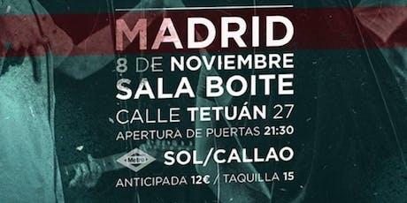 J Dose & Alber Stewar + BAND en Madrid entradas