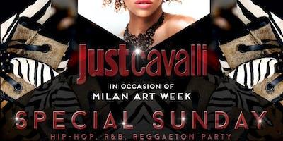 Just Cavalli Milano | LISTA TVB | Aperitivo & Serata | Domenica 14 Aprile