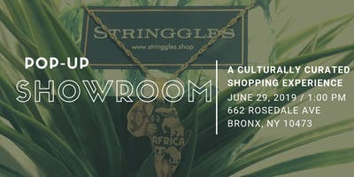 Stringgles Pop-up Showroom: A Culturally Curated Shopping Experience