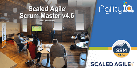 SAFe Scrum Master (4.6) with Certification tickets