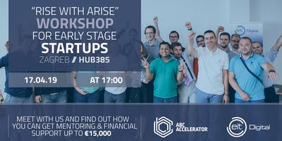 """Rise with Arise"" Workshop for early stage Startups"