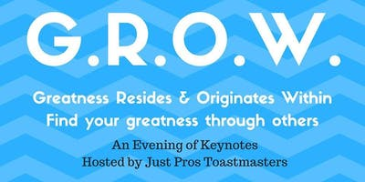 G.R.O.W. An Evening of Keynotes
