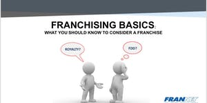 Franchising Basics: What You Should know to Consider a...