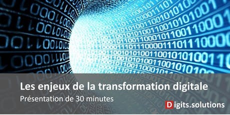 Transformation digitale des entreprises réunion d'information tickets
