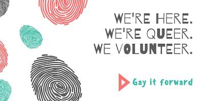 Gay it forward- The Calgary Food Bank
