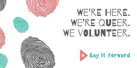 Gay it forward- The Calgary Food Bank tickets