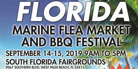10th Annual Florida Marine Flea Market and BBQ Festival Sails into West Palm September 14-15 tickets