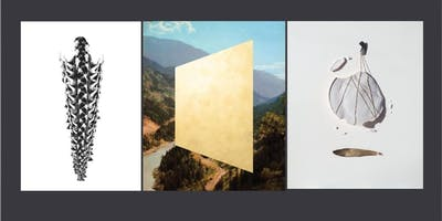 Collage Works: Amy Thompson, Kristina Corre, Laura Taler