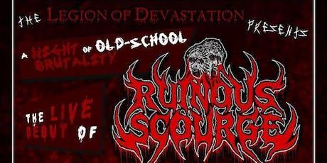 Ruinous Scourge // Embodiment // Enter Self // Mortius tickets