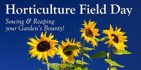 Horticulture Field Day tickets