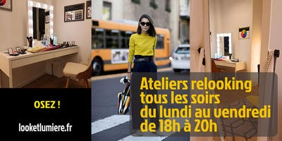 Ateliers relooking à Paris 8e