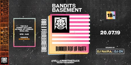 BANDITS BASEMENT tickets