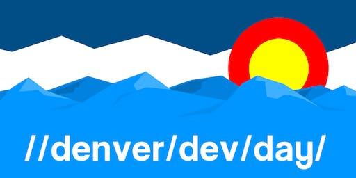 Denver Dev Day, Friday, November  22, 2019