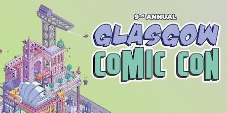 Glasgow Comic Con tickets