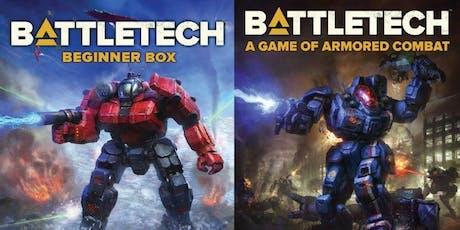 Beginner Battletech tickets