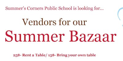 Vendors Wanted for Summer\