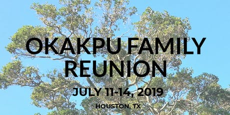 Okakpu Family Reunion 2019 tickets