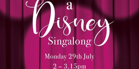 MumSing Disney Singalong tickets