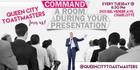 Queen City Toastmasters Meeting tickets