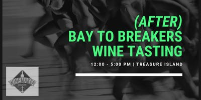 After Bay to Breakers Wine Tasting