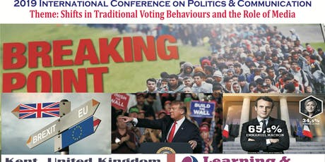 2019 International Conference on Politics & Communication tickets