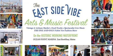 The East Side Vibe at Boothbay Harbor Fest General Admission tickets
